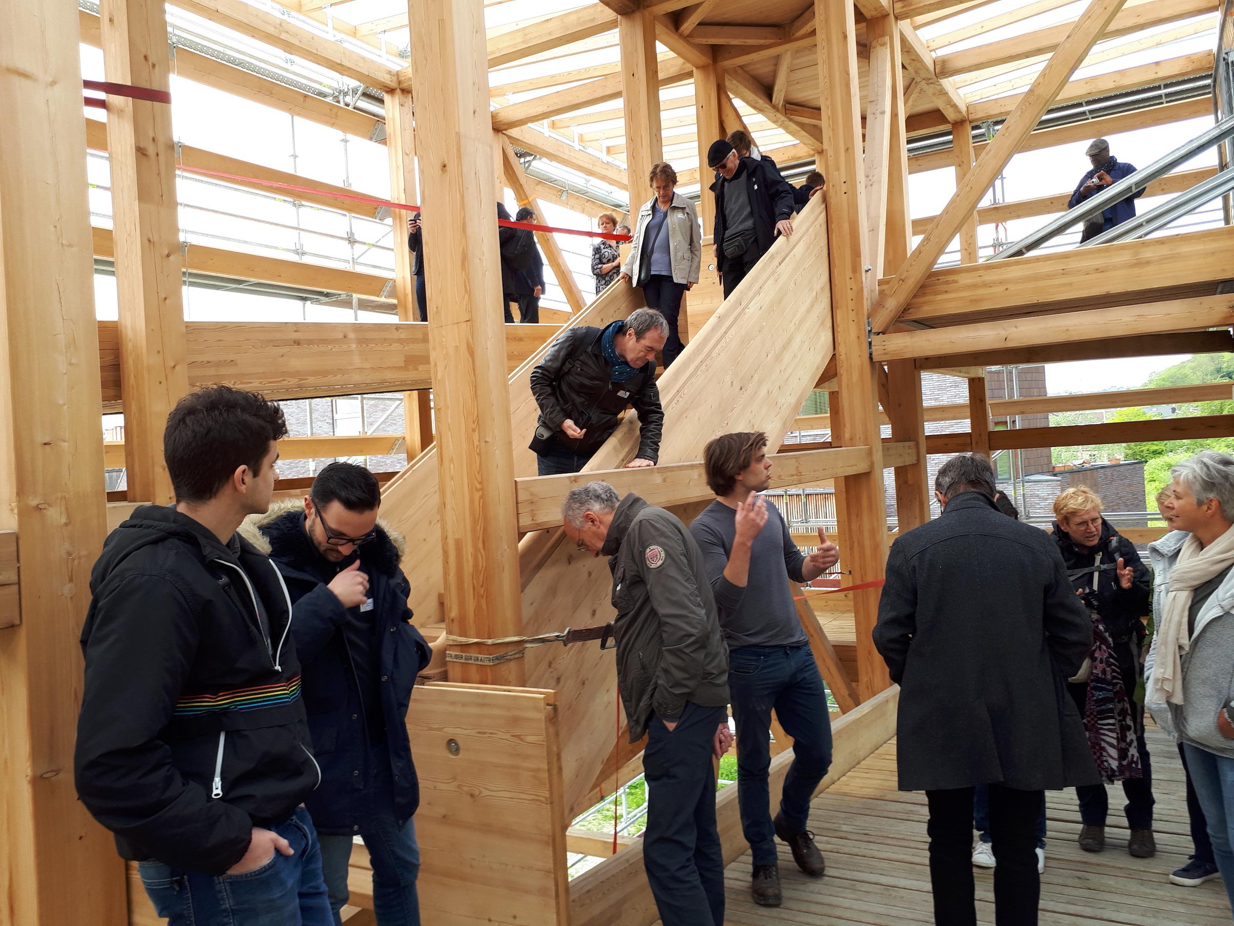 Retour sur la Journée de visites dans la province de Liège du 26 avril 2019