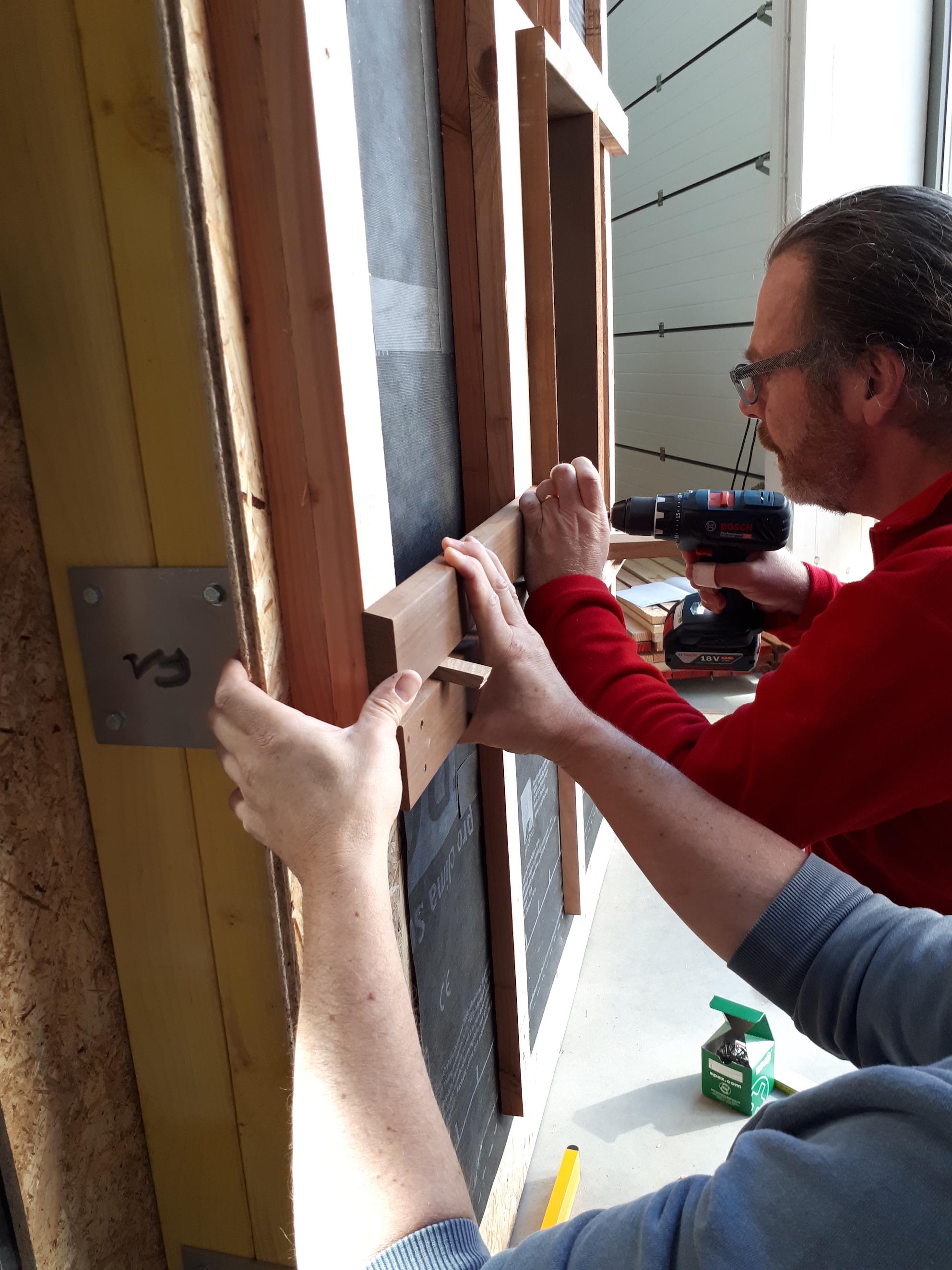 Retour sur la formation « Revêtements extérieurs de façade en bois » de ces 4 et 5 avril 2019