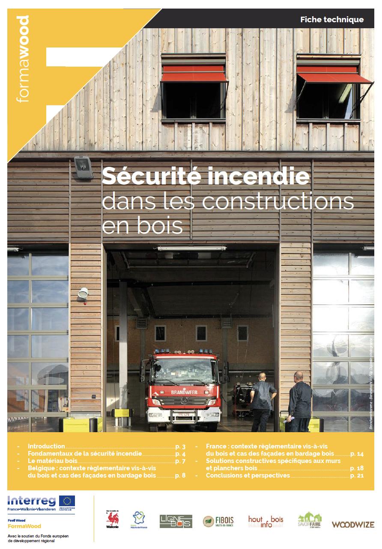Nouvelle fiche technique sur la sécurité incendie dans les bâtiments en bois