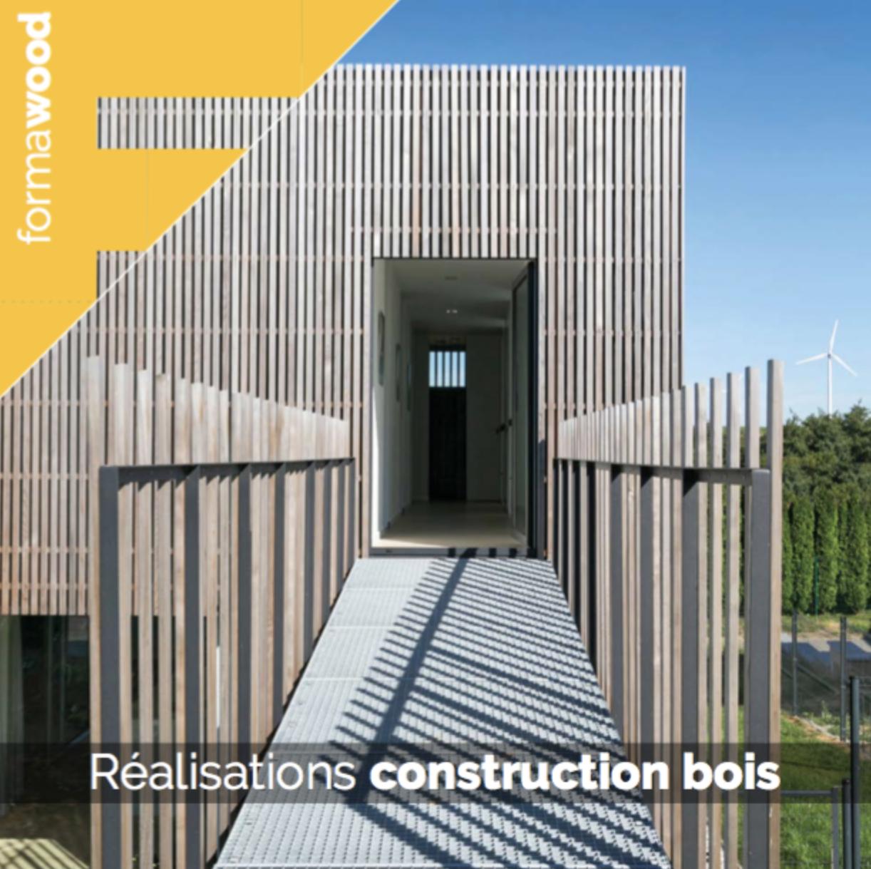 Nouveau carnet d'architecture - Réalisations construction bois
