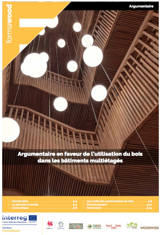 Argumentaire en faveur de l'utilisation du bois dans les bâtiments multiétagés