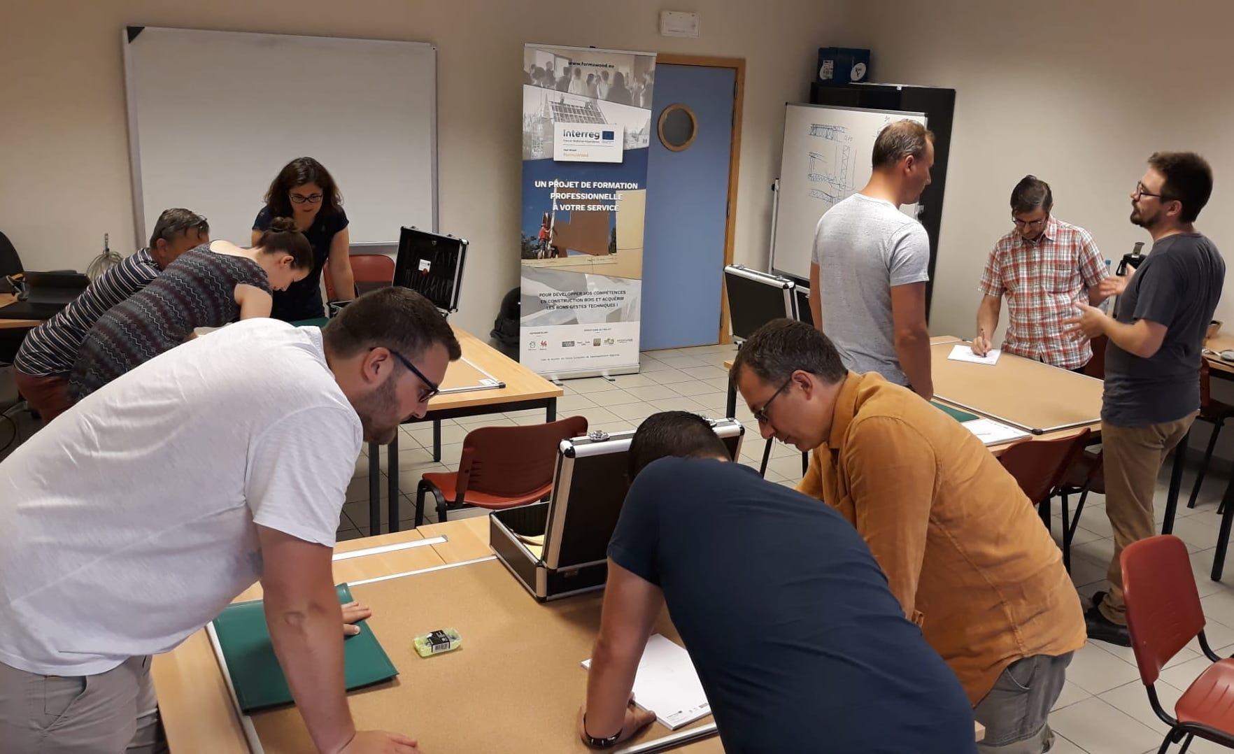 Retour sur la formation « Hygrothermie et conception des noeuds constructifs dans les bâtiments en bois » du 25 juin