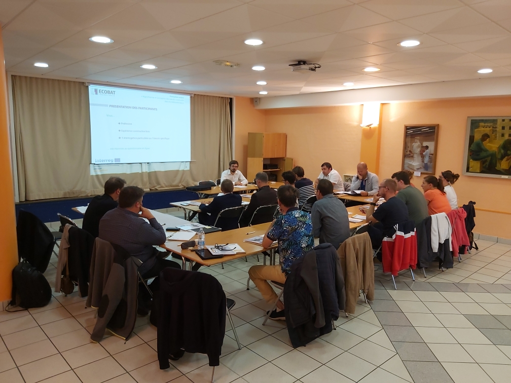 Retour sur la formation « Hygrothermie et conception des noeuds constructifs dans les bâtiments en bois » du 17 septembre